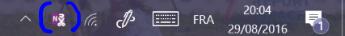 icone dans la barre de notification